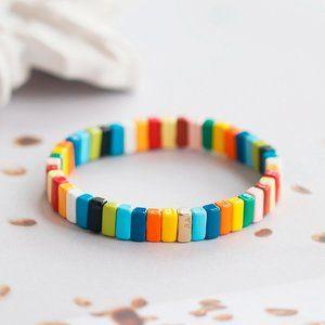 Roxanne Assoulin Rainbow Brite Bracelet Sz Small